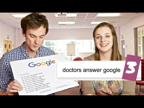 Do DOCTORS get ill more often?! We answer top GOOGLE searches about doctors | Ep 3