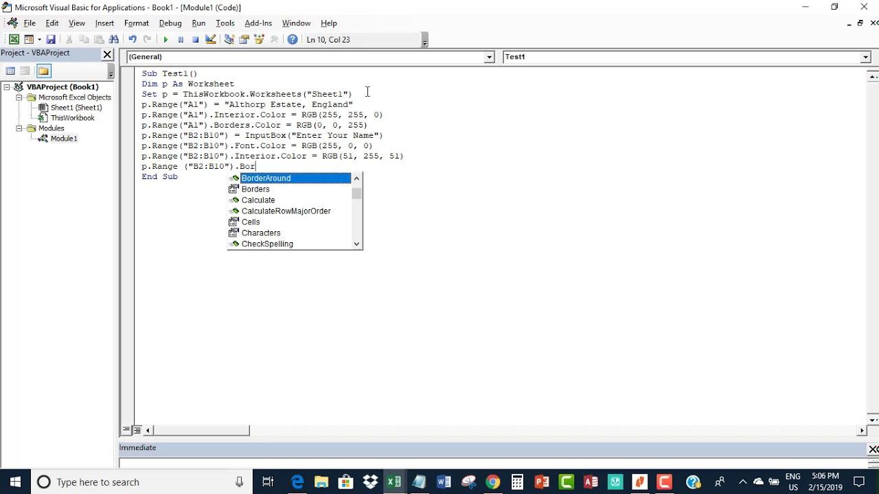 Declare worksheet as Object Variable in Excel VBA - YouTube