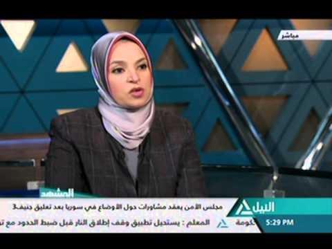 المشهد  6 2  SYRIA NEGOTIATIONS, ARABIC, EGY TV, 2016