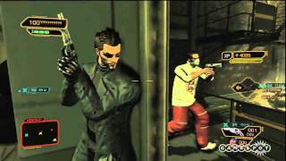 Deus Ex:  Human Revolution - Gang Shoot-out Gameplay (PC, PS3, Xbox 360)