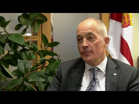 States of Jersey CEO Charlie Parker talks to ITV Channel's P