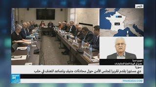 المعارضة السورية تطالب بتثبيت الهدنة وتحسين الوضع الإنساني لاستئناف المفاوضات