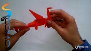 Hacer Un Dragon De Origami - Make An Origami Dragon