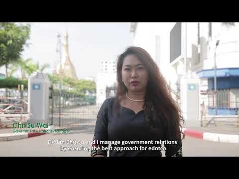 Empowering Women – edotco Myanmar