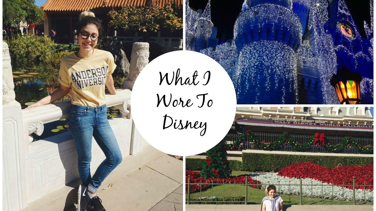 70b49829b28d COMFY AND CUTE OUTFITS FOR DISNEY WORLD - YouTube