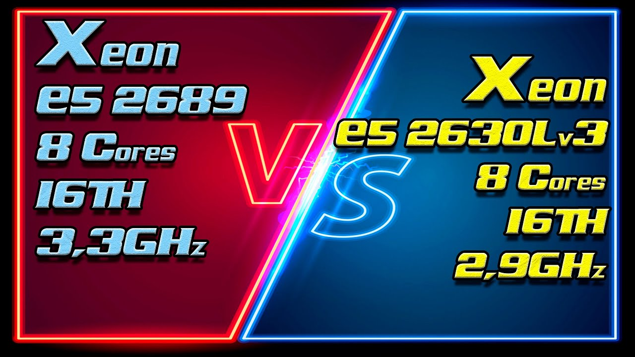 Xeon E5 2689 (3300MHz) vs Xeon E5 2630Lv3 (2900MHz). Unlock Turbo Boost & Undervolting (-100mV)