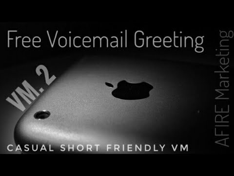 Free use voicemail greeting 2 casual short friendly youtube free use voicemail greeting 2 casual short friendly m4hsunfo Image collections