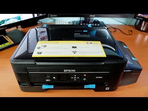 Unboxing & First Look: Epson Expression ET-2550 EcoTank Printer