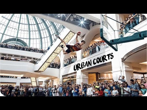 """Urban Courts"" @ Mall of the Emirates I Face Team"
