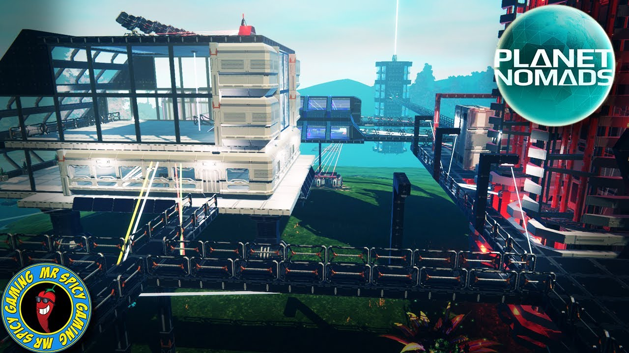BASE POWER REWORK - gameplay de Planet Nomads S2 Ep26 + vídeo