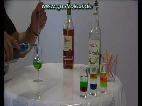 Dutchtableworks Cocktails Pousse Cafe´