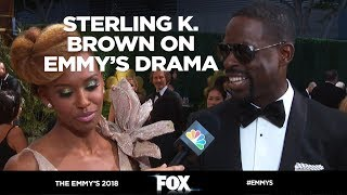 The Emmy's 2018 | Sterling K. Brown Reacts to 2017 Emmy's Drama | FOX