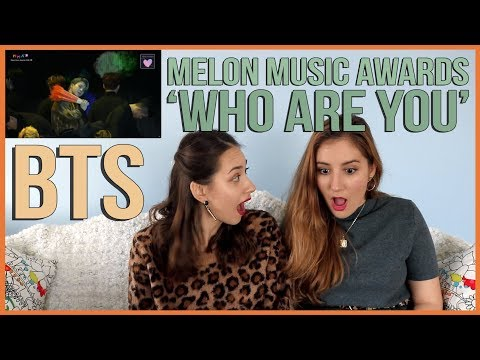 BTS - WHO ARE YOU MMA 2018 PERFORMANCE REACTION