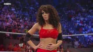 WWE SuperStars Eve vs Layla Speical Ref Maria 720pHD