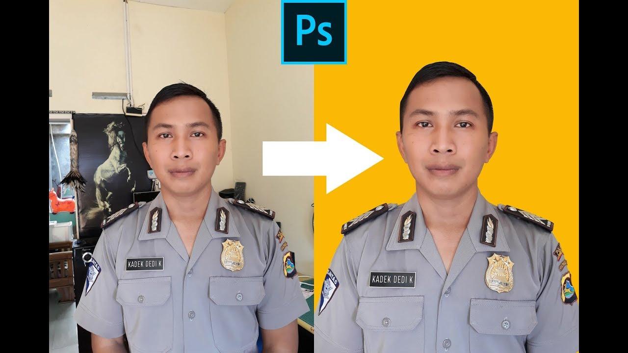 Background Foto Nikah Polisi