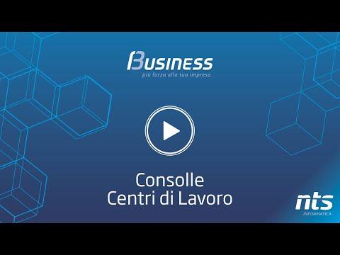 Business Cube - Consolle Centri di Lavoro - NTS Informatica