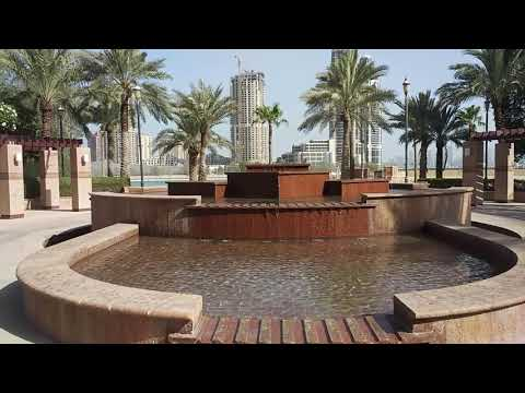Ritz Carlton Doha Qatar peaceful waterfront