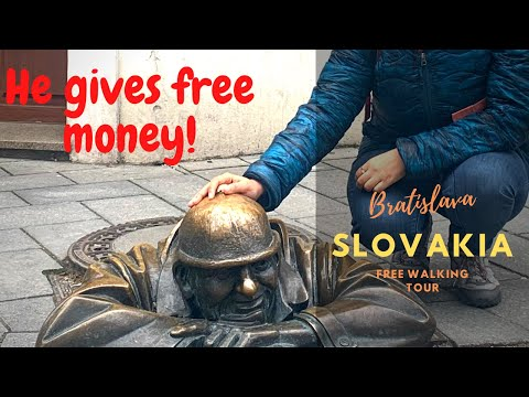 Bratislava day tour - Where you can get free money and good luck!