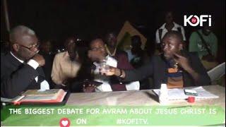 Avraham Ben Moshe Tries To Poison Pastor On Live Debate