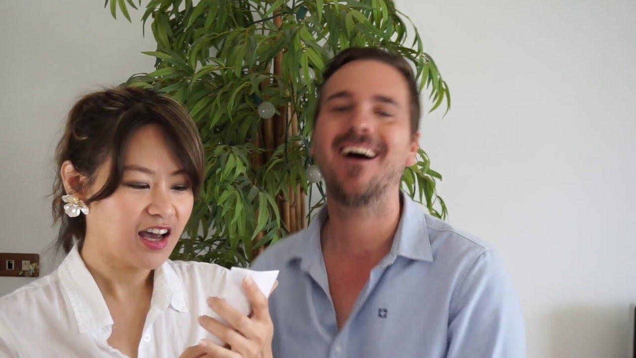 外國人猜英文譯名 / Western Celebrities' Chinese Names Guessing Game - YouTube
