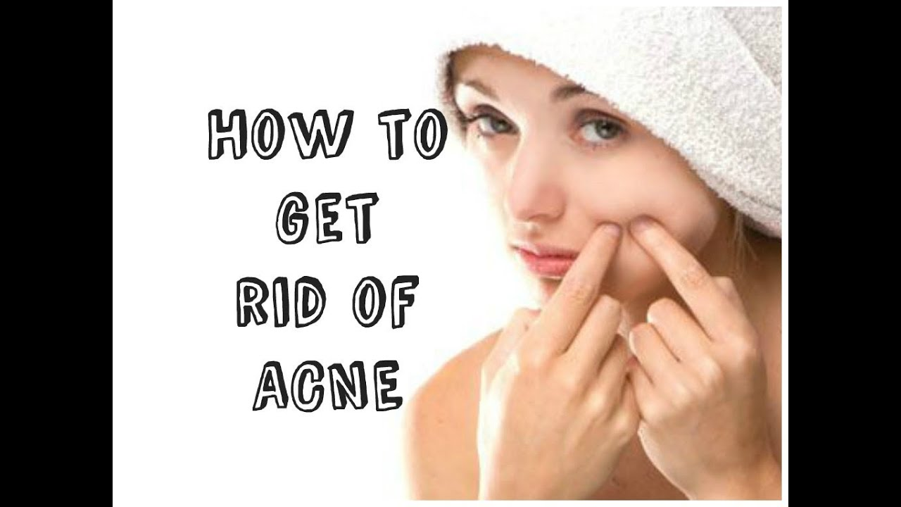 how to clear acne fast at home