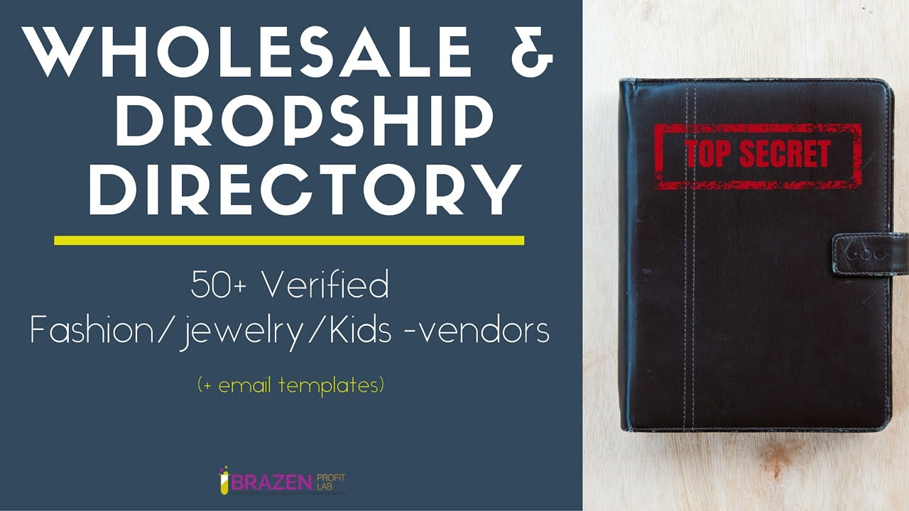 Wholesale Clothing Vendor Directory | Stop searching & start ...