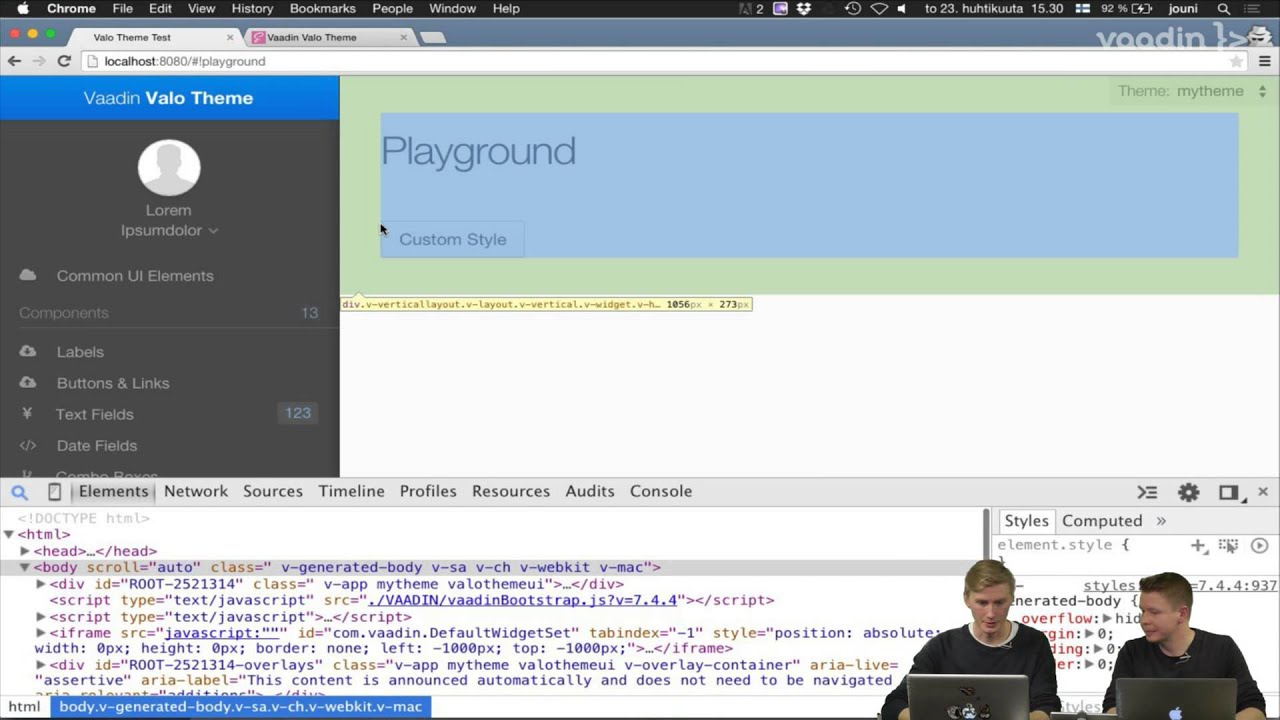 Theming with Valo Webinar