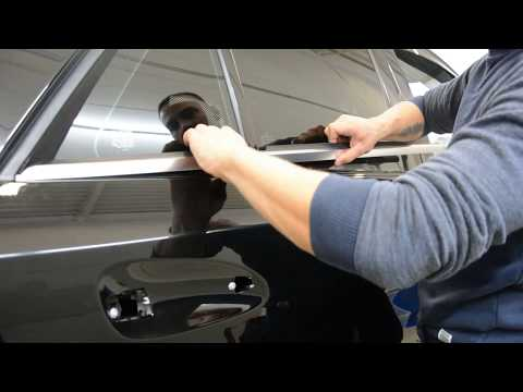 Removing Chrome Window Trim (Exterior) Mercedes