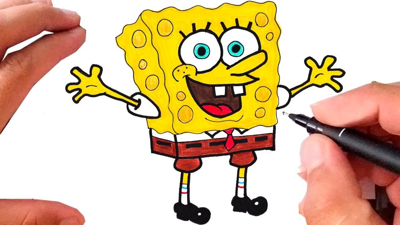 Como Desenhar Bob Esponja Calca Quadrada Youtube