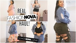 REAL Fashion Nova Curve Spring Try-on Haul Feat. My Sister! HIT OR MISS?