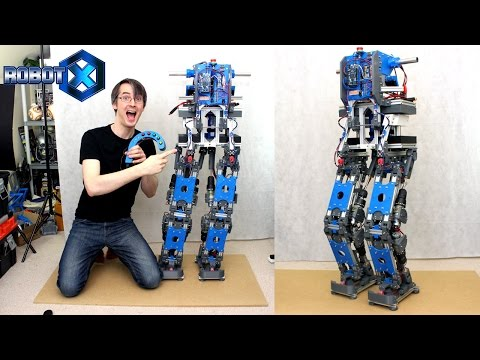 Building Robot X - #4, Electronics and First Tests
