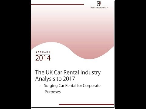 UK Car Rental Industry Research Report