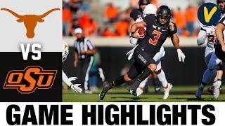Texas Vs #6 Oklahoma State Highlights | Week 9 2020 College Football Highlights