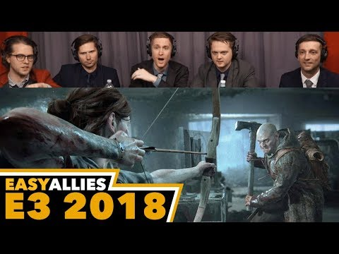 The Last Of Us Part II - Easy Allies Reactions - E3 2018