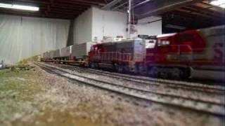 Santa Fe Railway In 1995 Ho scale