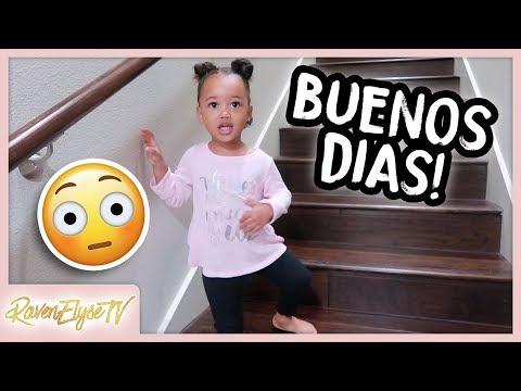 MOM VLOG | My 2 Year Old Speaks Spanish?!