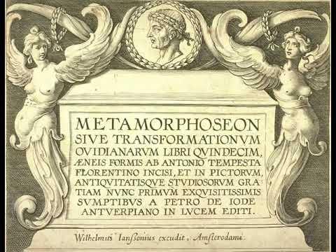Ovid's Metamorphoses Books 3-4