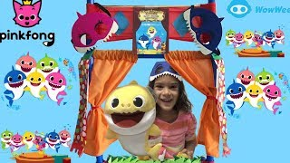 PINKFONG  BABY SHARK SONG AND NEW TOYS FROM WOWWEE WITH SAM AND ABBY