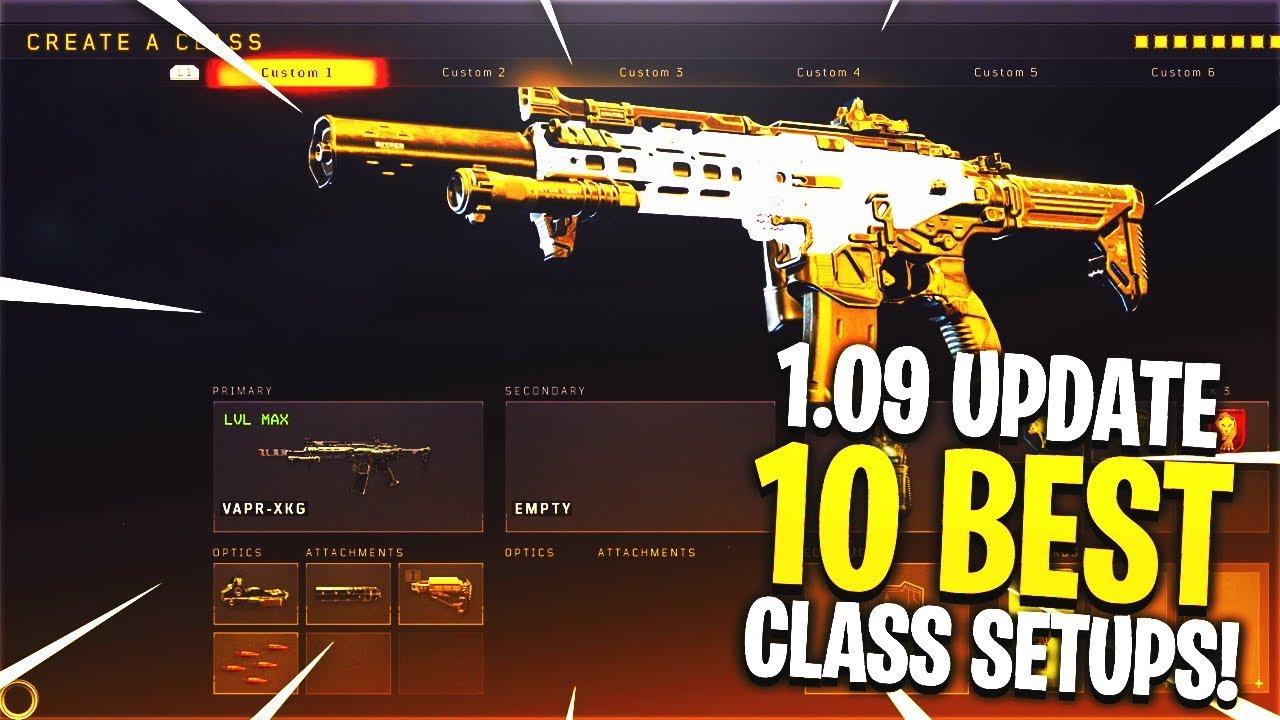 3 Best Class Setups Ops Bo4 Best Class Setup – Dibujos Para Colorear