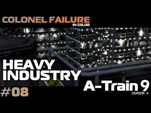 A-Train 9 v4 #8 : Heavy Industry / Man-Made Island Part 2