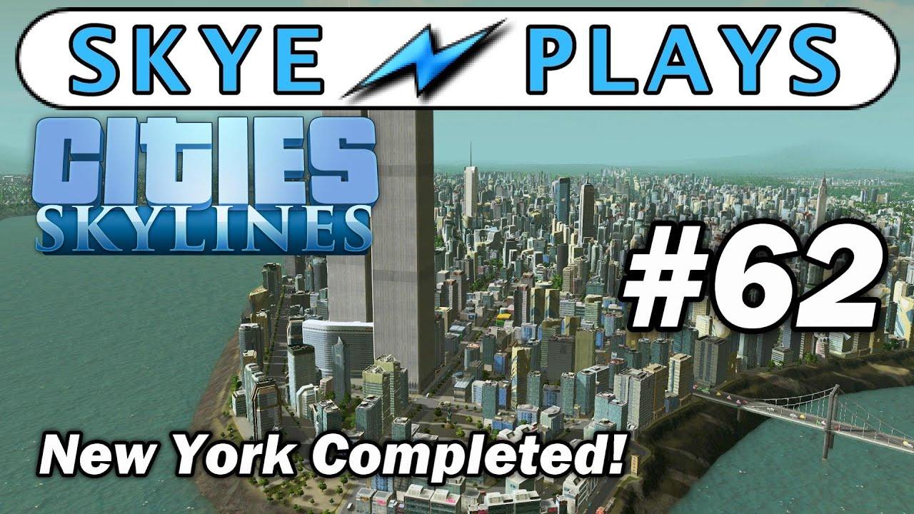 Cities Skylines Nyc Map
