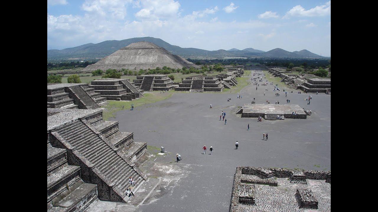 zona arqueológica de Teotihuacán - YouTube