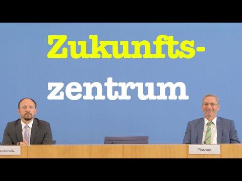 Zukunftszentrum Deutsche Einheit & Europäische Transformation  | BPK 16. Juni 2021