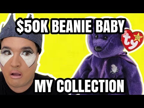 $50K BEANIE BABY PRINCESS DIANA COLLECTION REVIEW