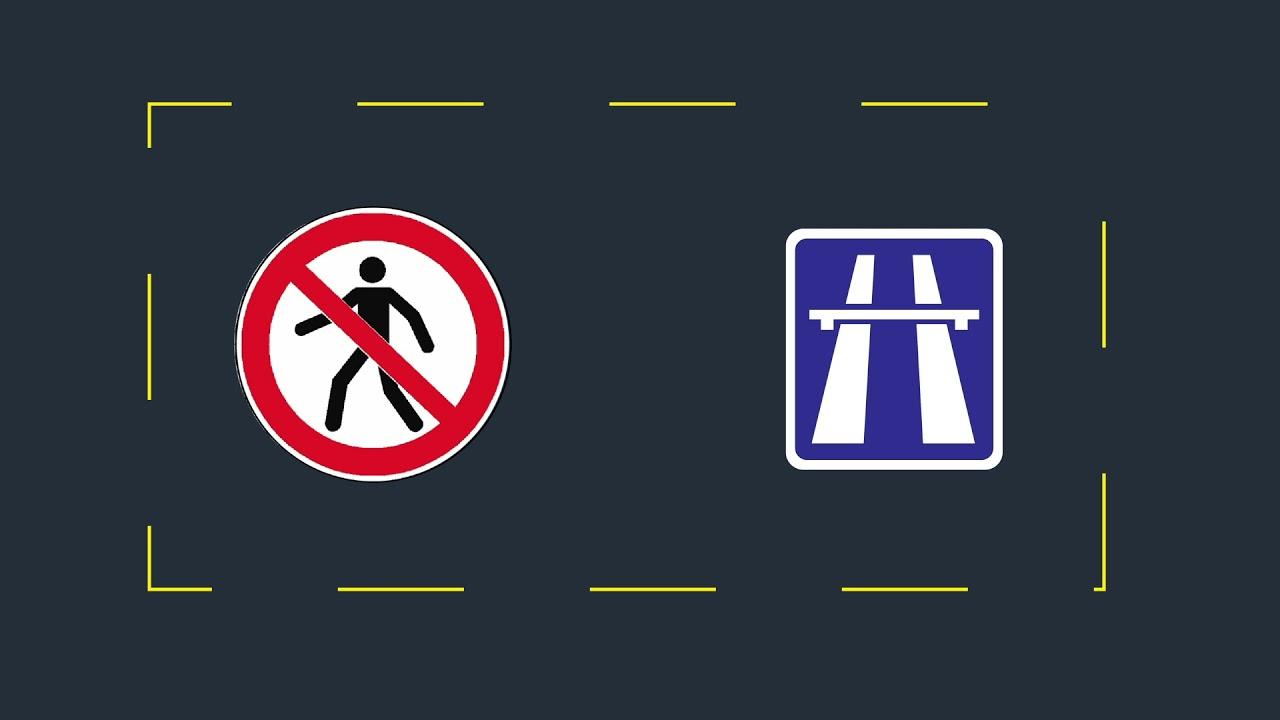 Web série didactique - Ep 20 - Piétons et autoroutes