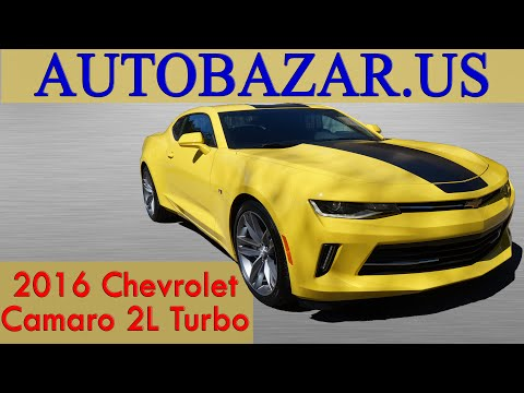 2016 Chevrolet Camaro 2.0L Turbo видео. Тест драйв Шевроле Камаро 2016 2.0 Турбо на русском.
