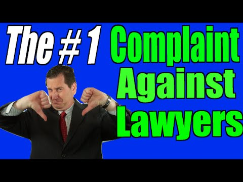Norfolk, VA Injury Lawyer Joe Miller: The Number One Complaint Against Lawyers