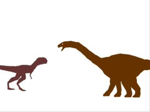 PDFC - Apatosaurus vs Majungatholus - YouTube