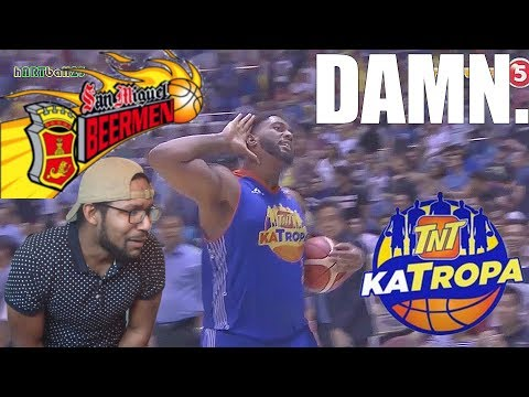 JOSHUA SMITH UNSTOPPABLE, RR POGOY COLD BLOODED! SMB vs TNT COMMISSIONERS CUP FINALS GAME 1 REACTION