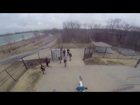 Drone Footage of Skate Park in St. Charles DJI Phantom